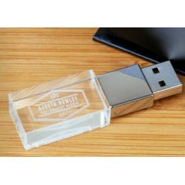 PACK USB CRISTAL & Caja Present