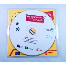 CD/DVD manipulado en bolsa con solapa