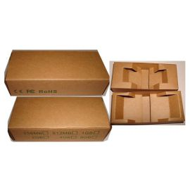 Caja de cartón reciclado para lapiz USB