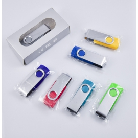 Memoria USB Twist stock 32 GB azul