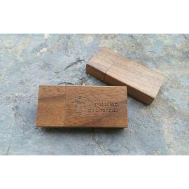 Memoria USB magnet madera GRANADA