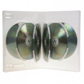 Estuche 10 DVD Translúcido