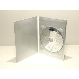 Bandeja Digitray DVD 1 disco transparente