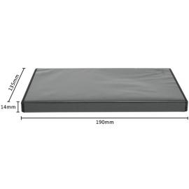 Caja DVD para un disco calidad alta negro
