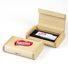 Caja de madera redondeada