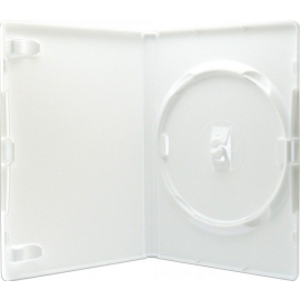 Caja DVD para un disco calidad alta blanca