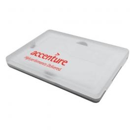 Caja de plástico tarjeta