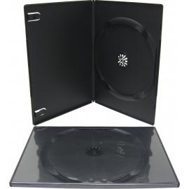 Caja DVD Slim 7 mm para un disco calidad alta negro