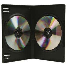 Caja 2 DVD negra calidad alta