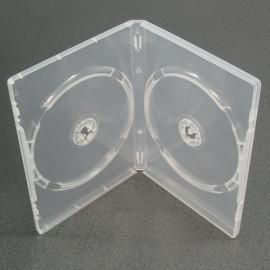 Caja 2 DVD transparente calidad alta