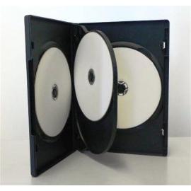 Caja 4 DVD negra