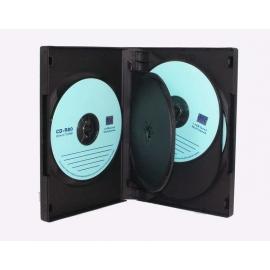 Caja 5 DVD negra